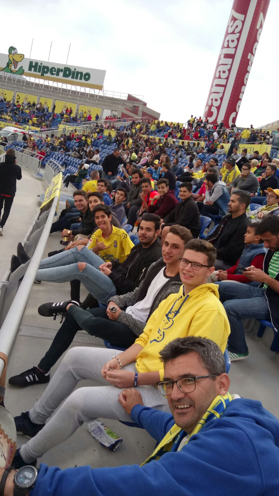 base visita estadio de gran canaria abril 2017 2